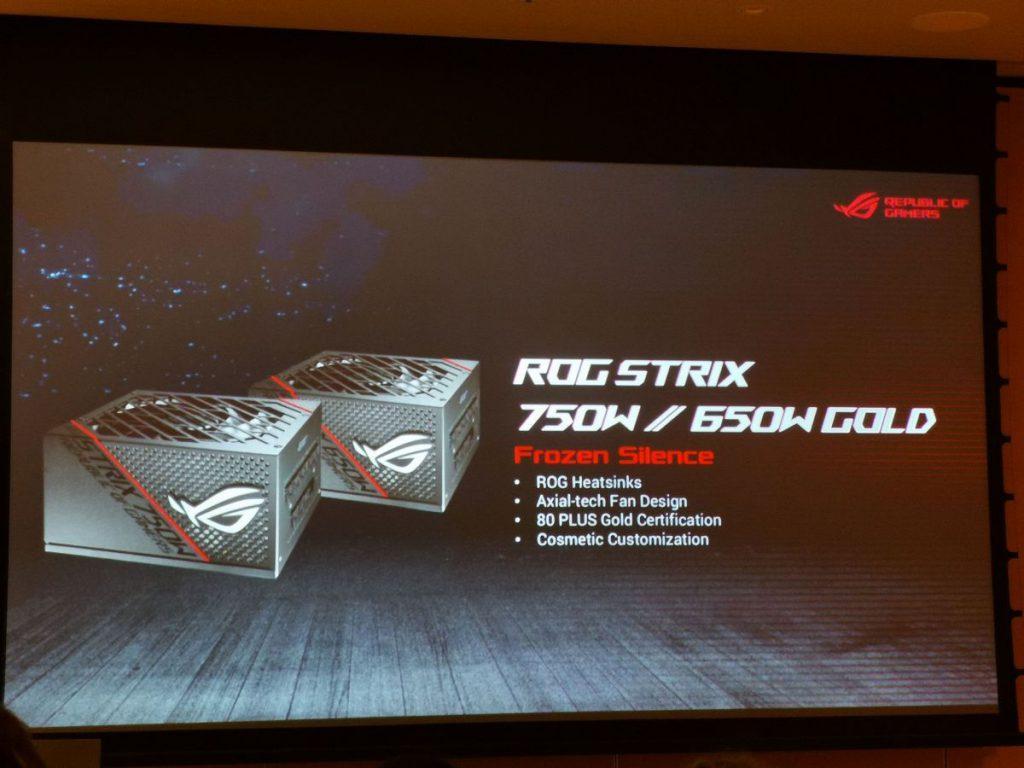 Presentación ASUS ROG Strix