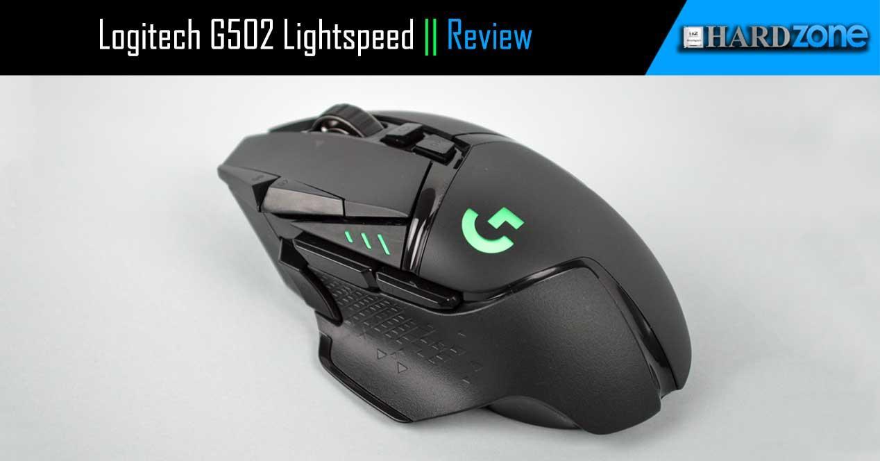 Review Logitech G502 Lightspeed