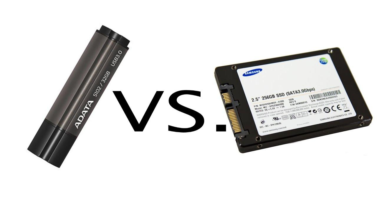 SSD Vs Pendrive