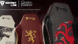 No son el Trono de Hierro, pero Secretlab ya vende sillas gaming de Juego de Tronos