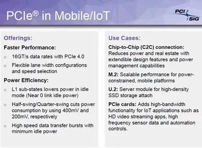 PCI SIG PCIe 4.0