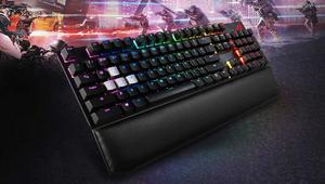 ASUS ROG Strix Scope Deluxe RGB: nuevo teclado gaming de aluminio con Cherry MX