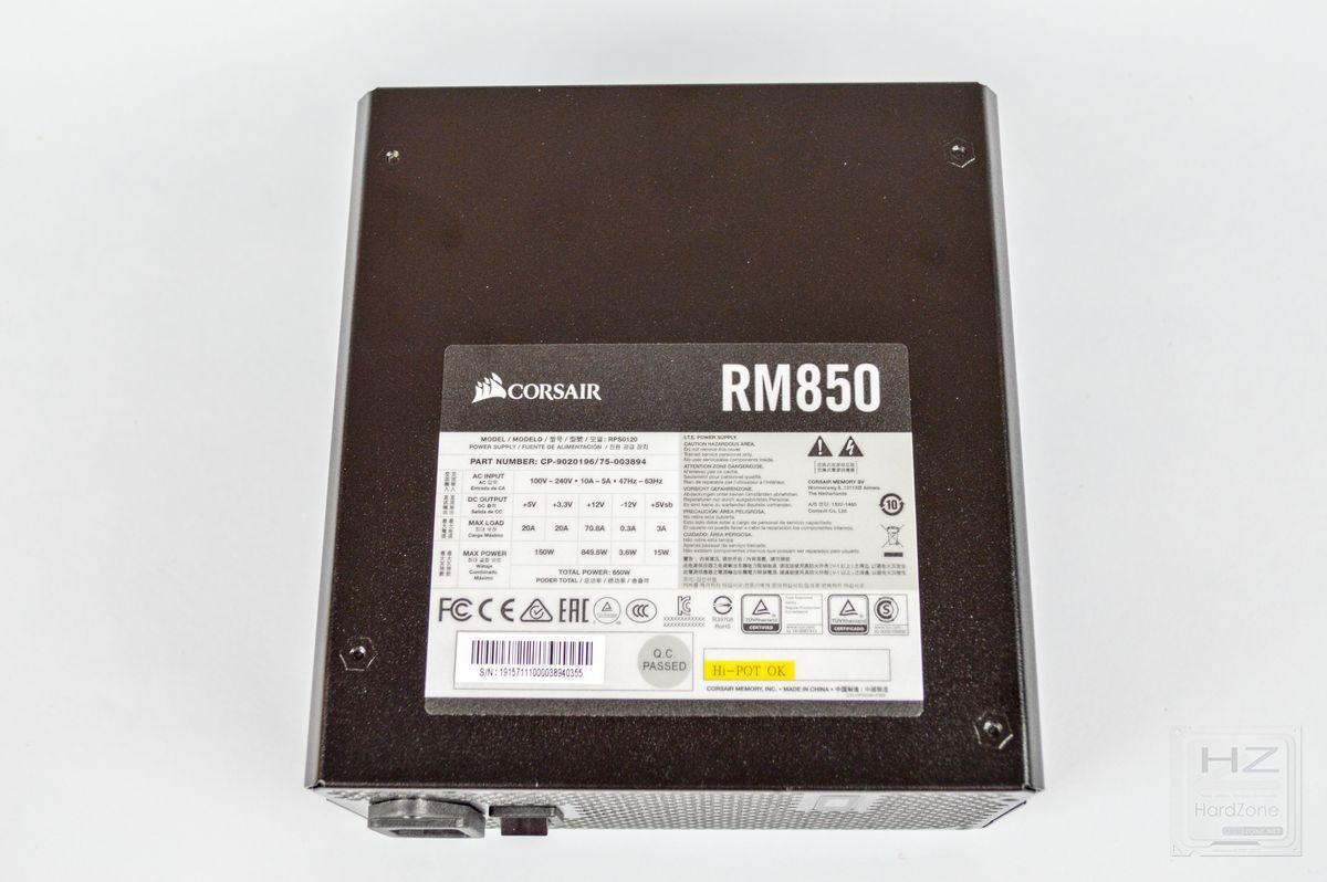 Corsair RM850 - Review 17