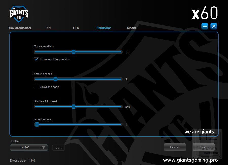 Giants Gear X60 - Review Pruebas 4