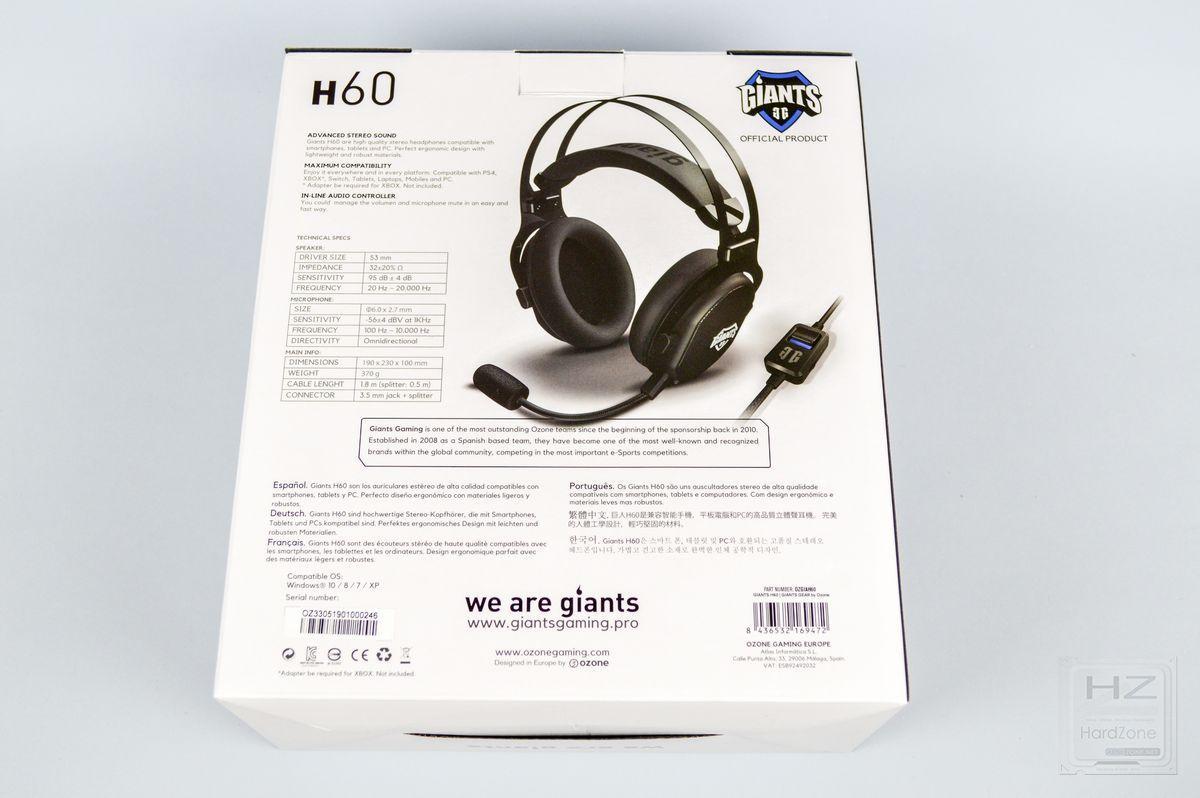 GiantsGear H60 - Review 2