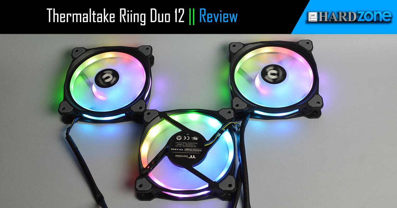 Review Thermaltake Riing Duo 12