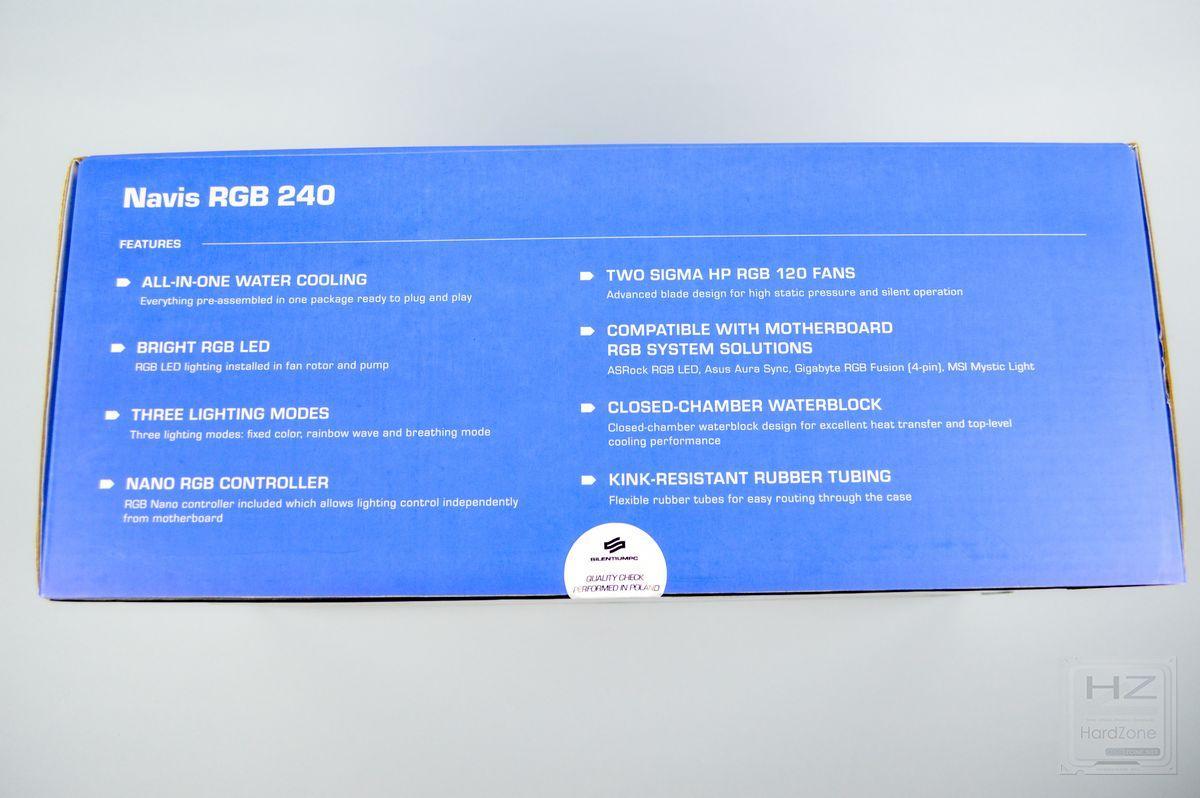 SilentiumPC Navis RGB 240 - Review 2