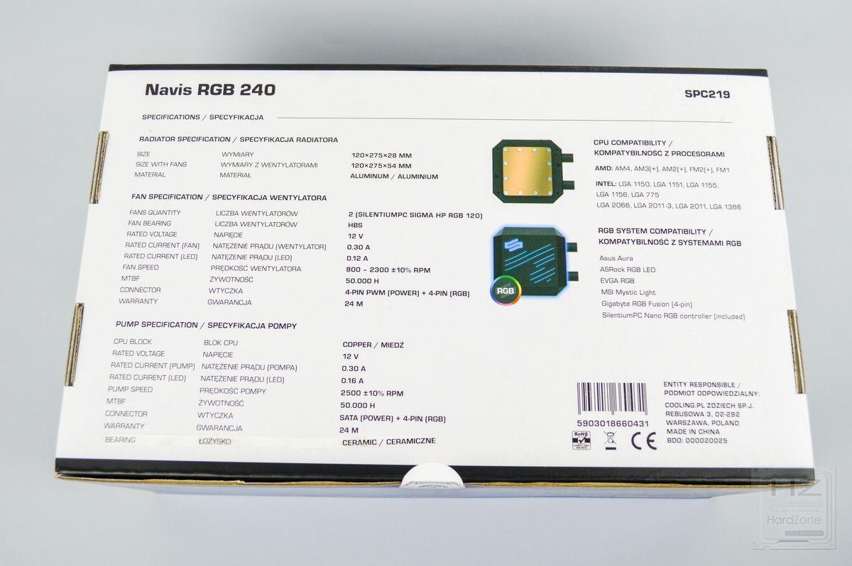 SilentiumPC Navis RGB 240 - Review 5