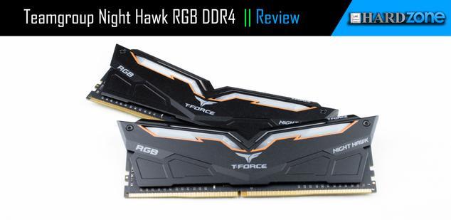 Ver noticia 'Teamgroup Night Hawk RGB DDR4 3200, review: memoria RAM rápida y con RGB'