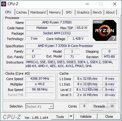 AMD Ryzen 3700X - Review Benchmark 1