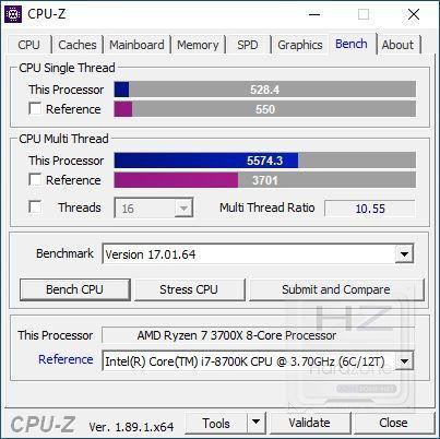 AMD Ryzen 3700X - Review Benchmark 7