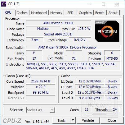 AMD Ryzen 3900X - Review Benchmark 1
