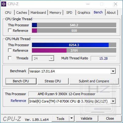 AMD Ryzen 3900X - Review Benchmark 7