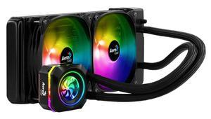 Nuevas AIO Aerocool Pulse L120F y L240F: equipadas con iluminación RGB programable y ventiladores especiales