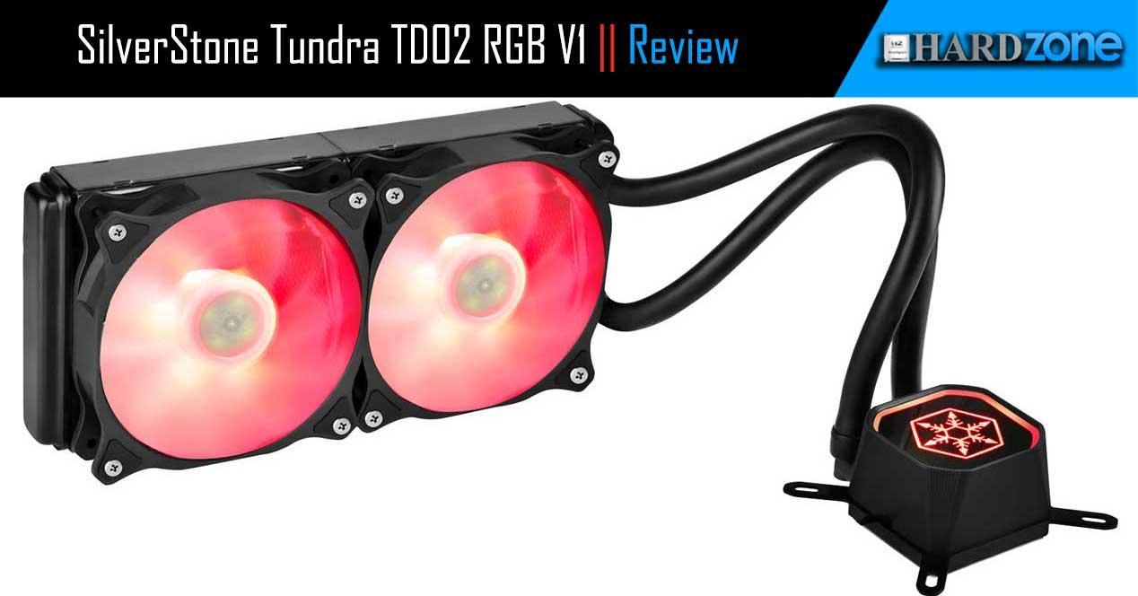 Portada SilverStone Tundra TD02 RGB V1