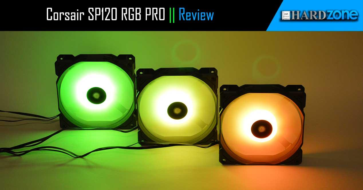 Review Corsair SP120 RGB PRO