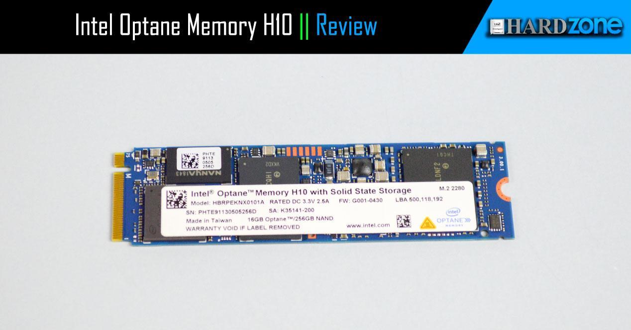 Review Intel Optane Memory H10