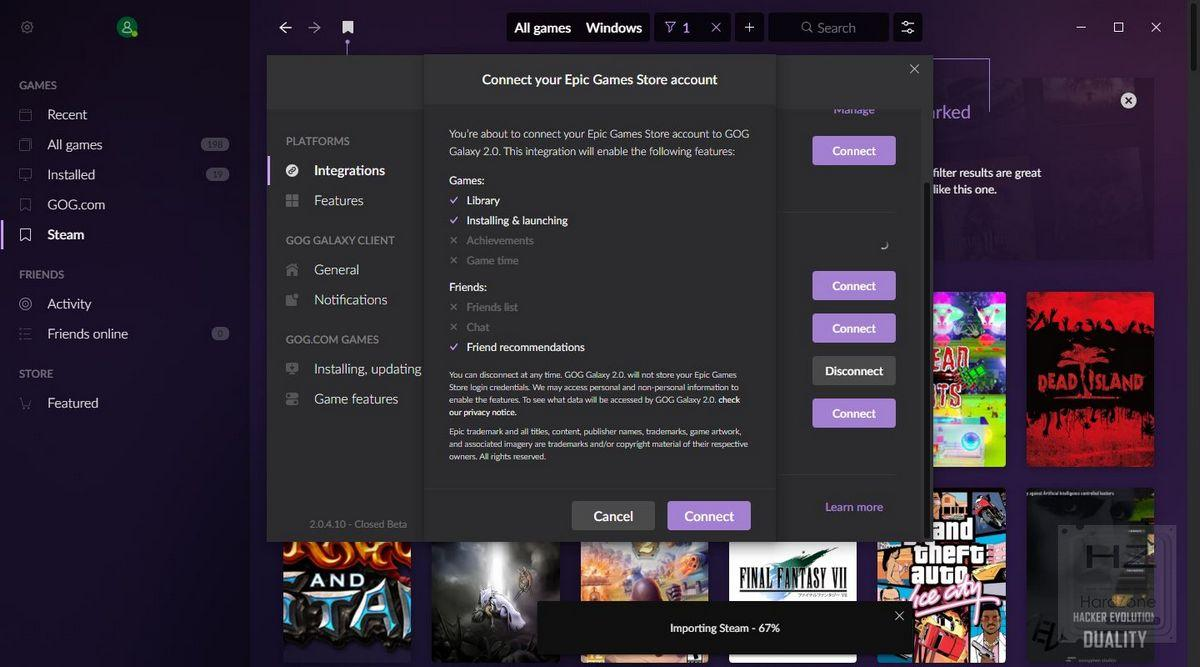 GOG Galaxy 2.0 - Review 10