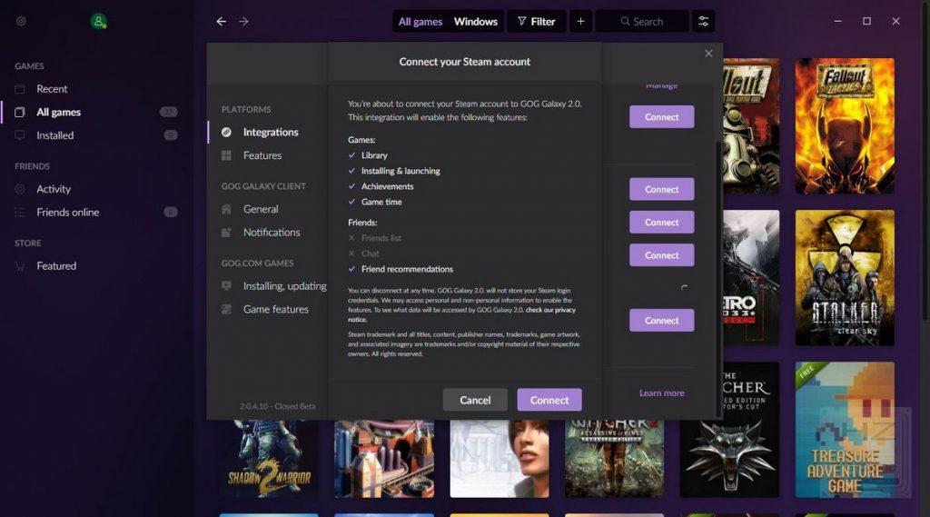 GOG Galaxy 2.0 - Review 5