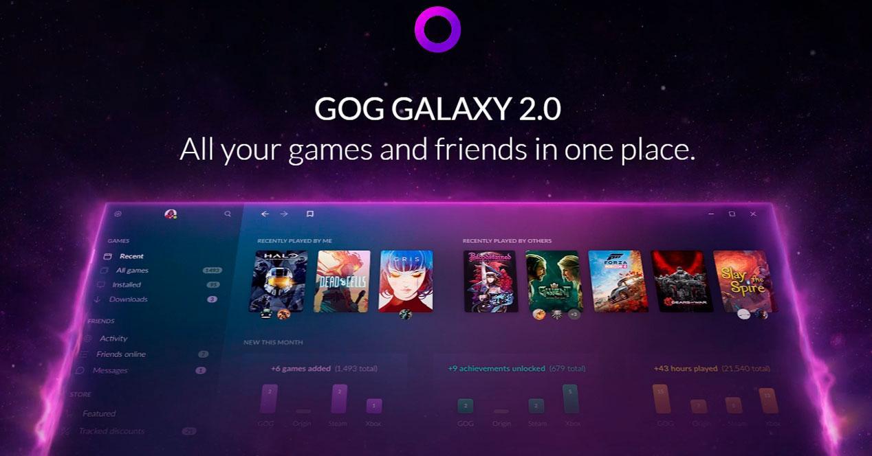 GOG Galaxy 2.0 probar