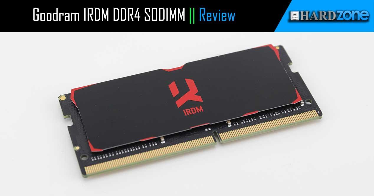 Goodram IRDM DDR4 SODIMM review