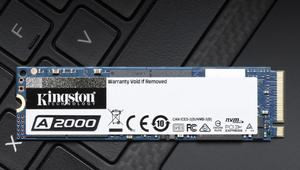 Kingston A2000: nuevos SSD NVMe baratos de hasta 1 TB y 2.200 MB/