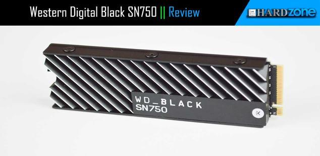 Review Western Digital Black SN750