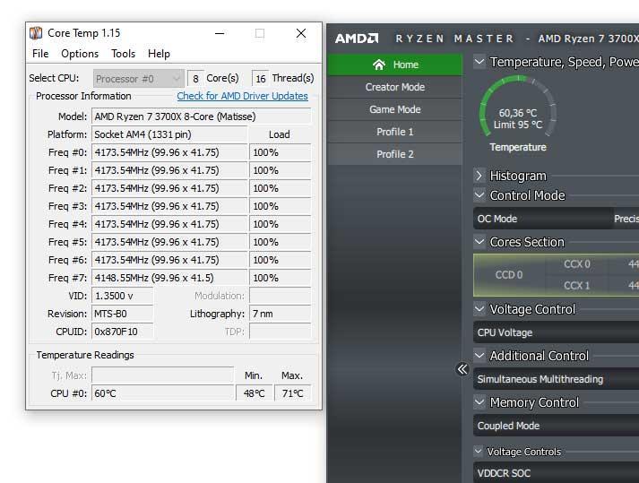 Por qué en los AMD Ryzen los programas no leen bien la
