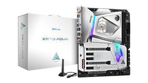 ¿Quieres una placa AMD X570 con agua y sin ventilador en el chipset? Prepara 1.000 dólares