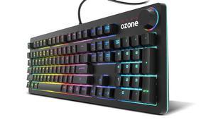 Ozone lanza StrikeBack: un teclado mecánico gaming con interruptores Kailh Red RGB