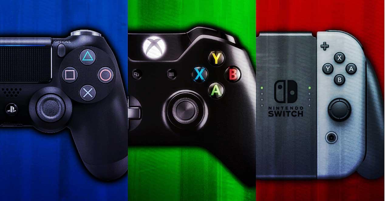 Gamepad-consolas