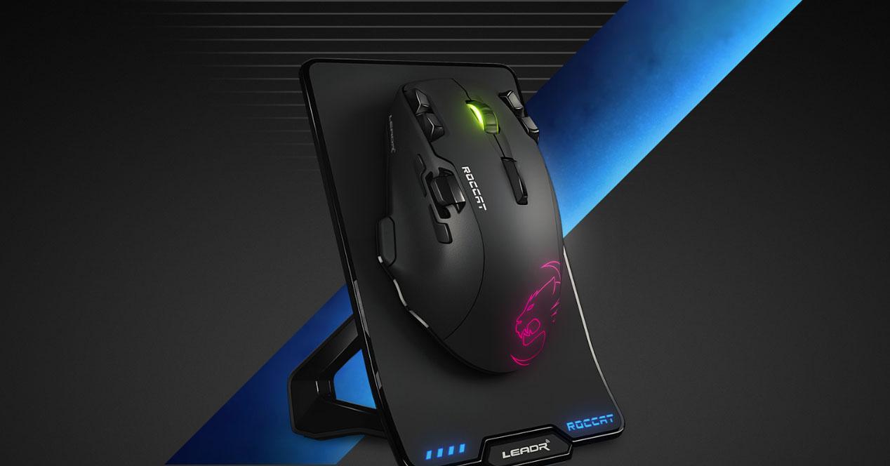 Ratón gaming con dock