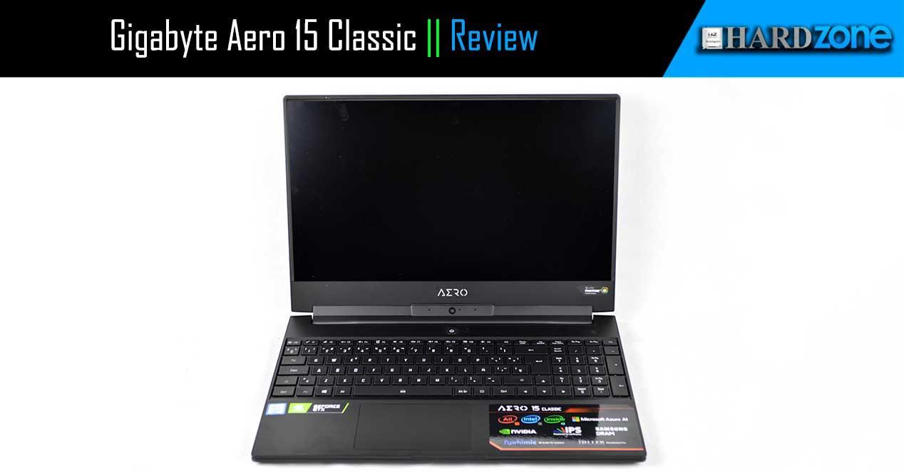 Review Gigabyte Aero 15 Classic