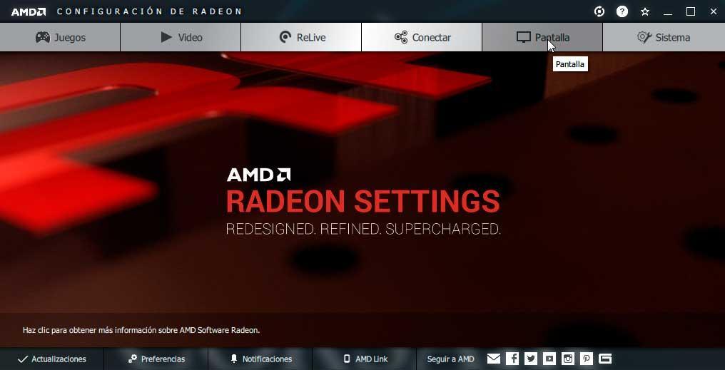 Activar AMD Radeon FreeSync