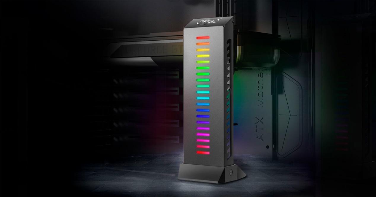 soporte vertical
