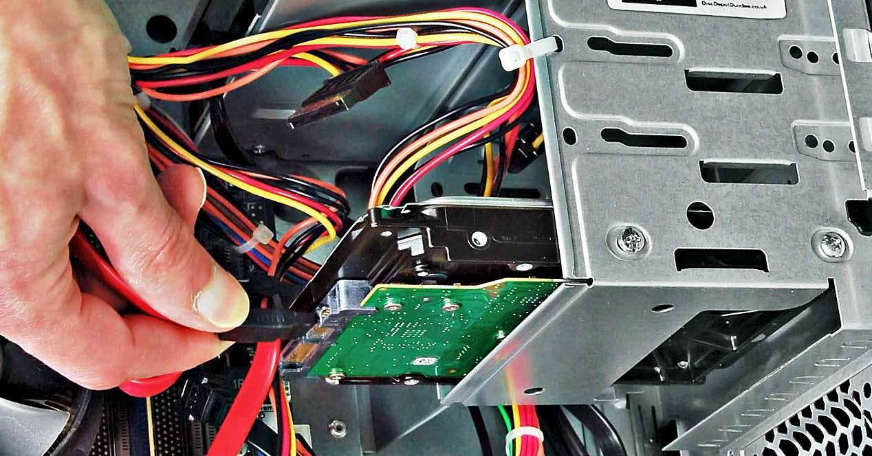 montar disco duro SSD