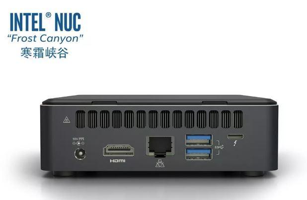 La nueva generación de Intel NUC 10 «Frost Canyon» se anunciará el mes que viene 2