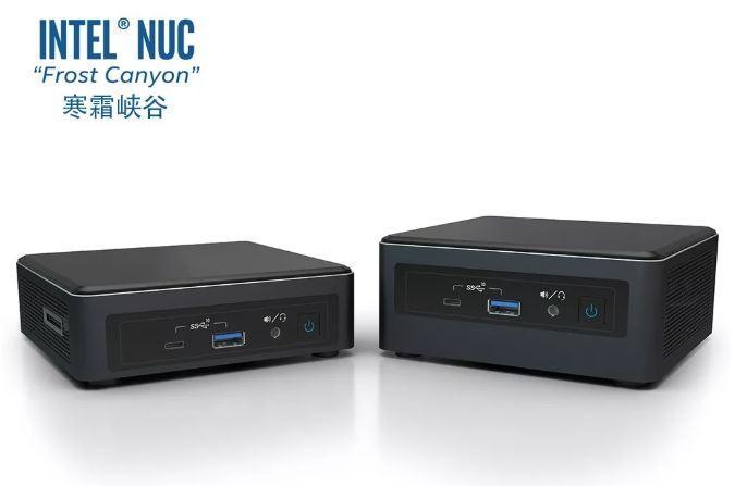 La nueva generación de Intel NUC 10 «Frost Canyon» se anunciará el mes que viene 1