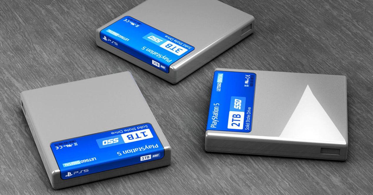 Cartuchos SSD PS5
