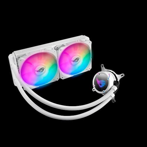 ASUS ROG STRIX LC RGB White Edition: refrigeraciones líquidas para los fanáticos del color blanco 1