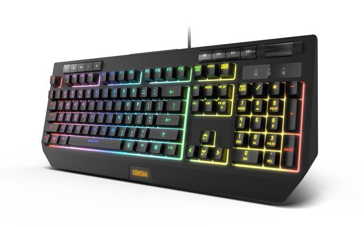 KROM lanza Kuma, su nuevo teclado gaming híbrido y con soporte para el smartphone 2