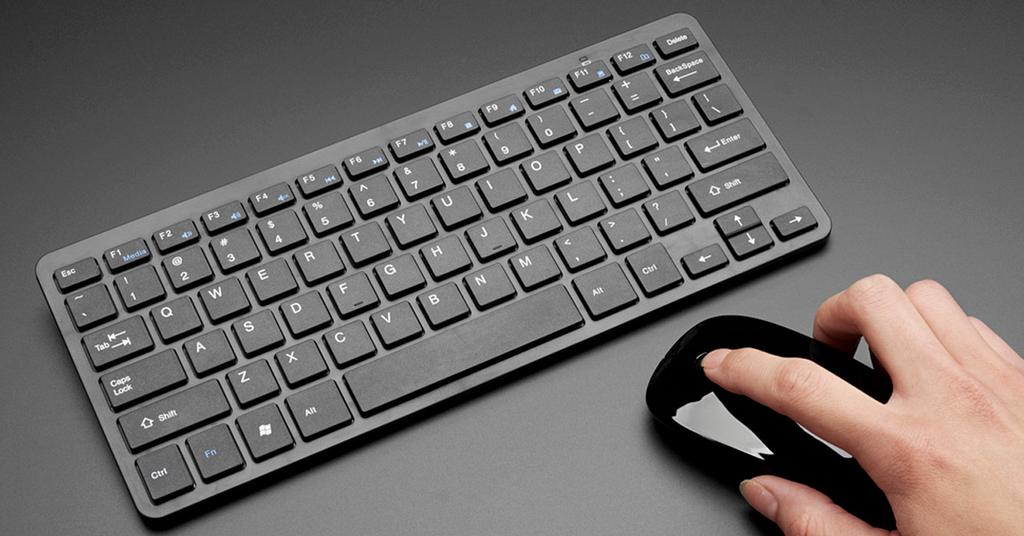 arreglar teclado ratón