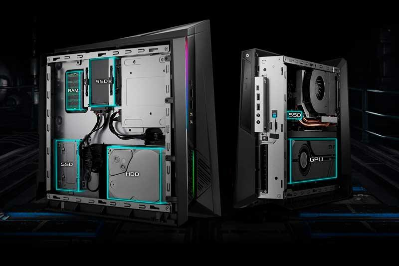 ASUS actualiza su mini PC gaming Huracan G21, pequeño pero muy potente 4