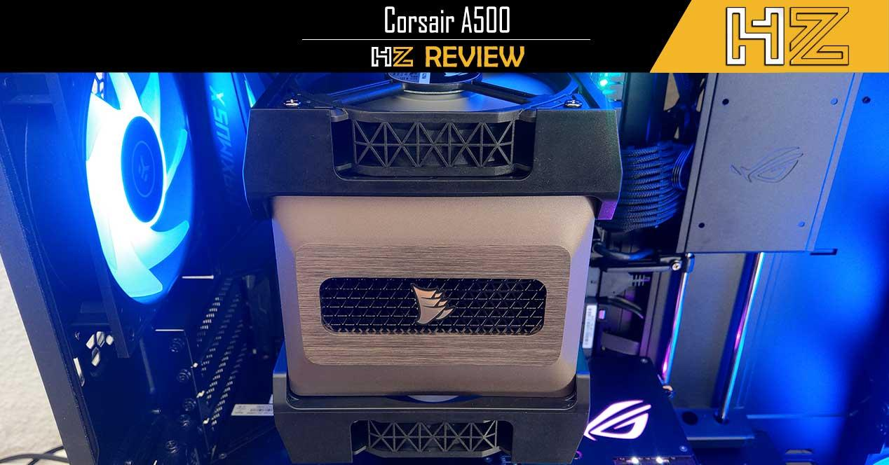 Corsair A500 Review Portada