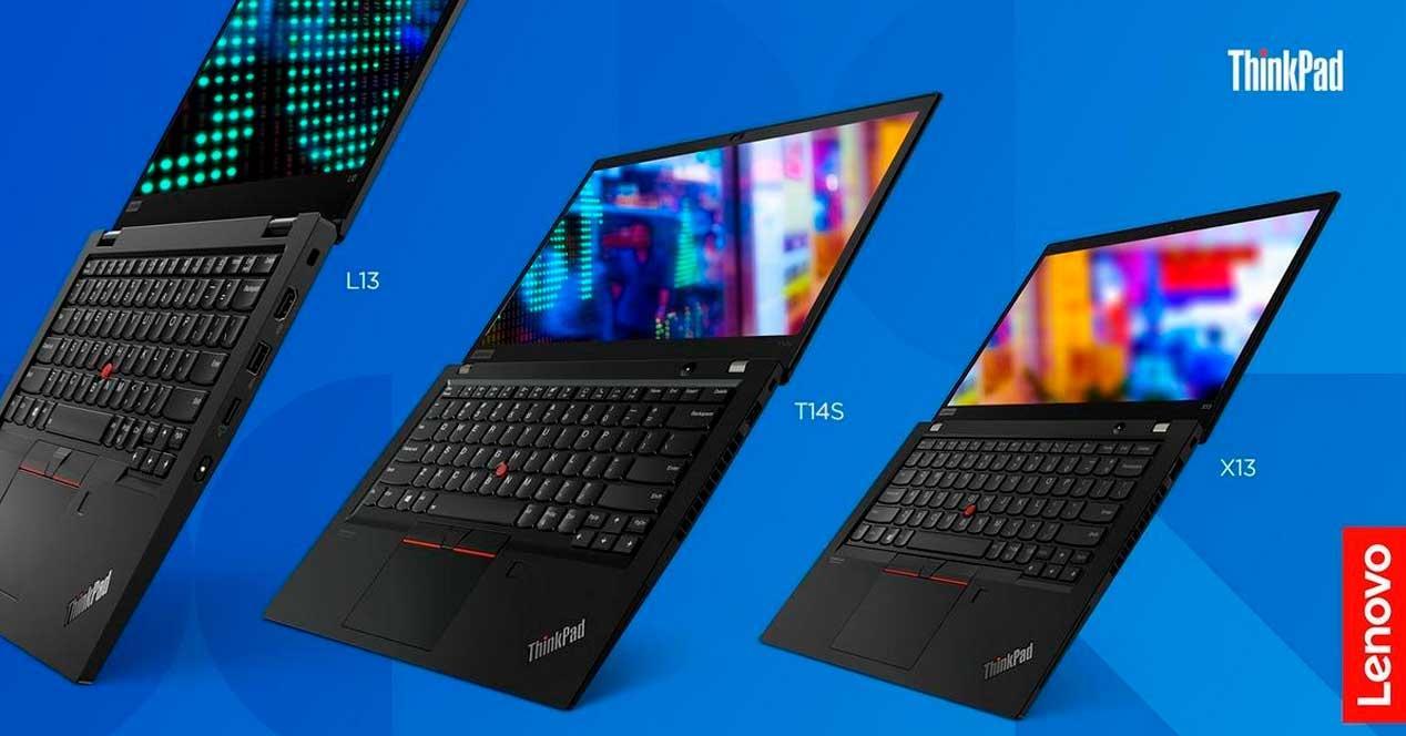 portátiles Lenovo