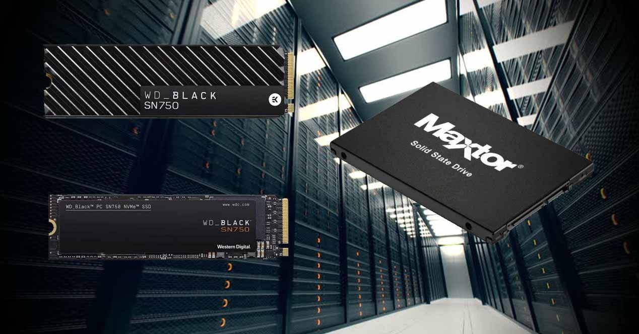 Ofertas SSD WD y Maxtor