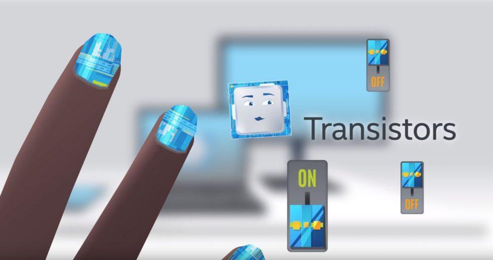 transistores del procesador intel