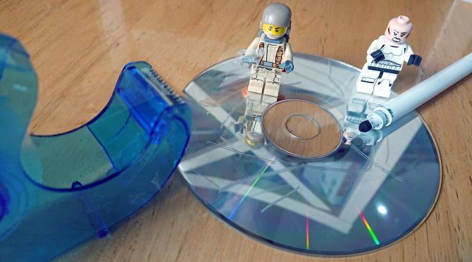 Repair CD with zeal