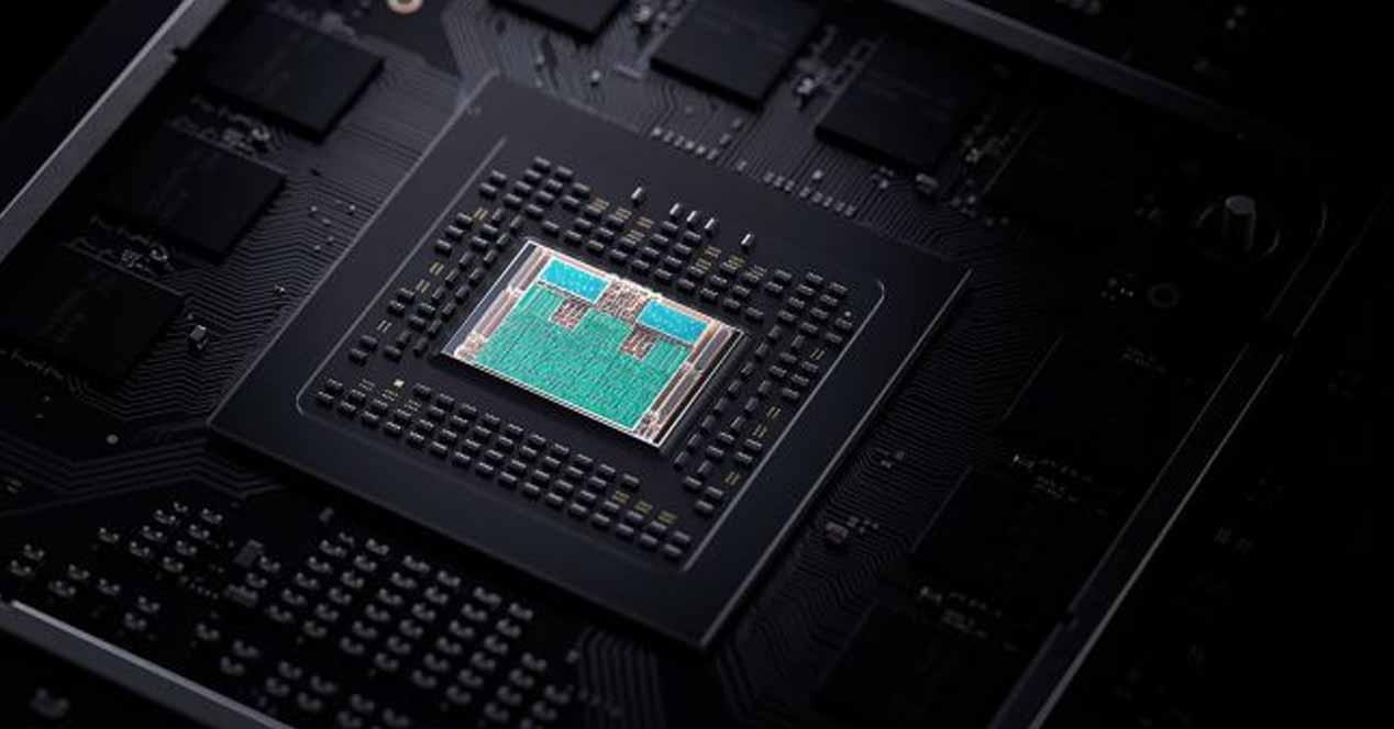 APU de una Xbox Series X