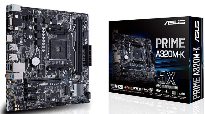 Placa base ASUS PRIME A320M-K para PC AMD